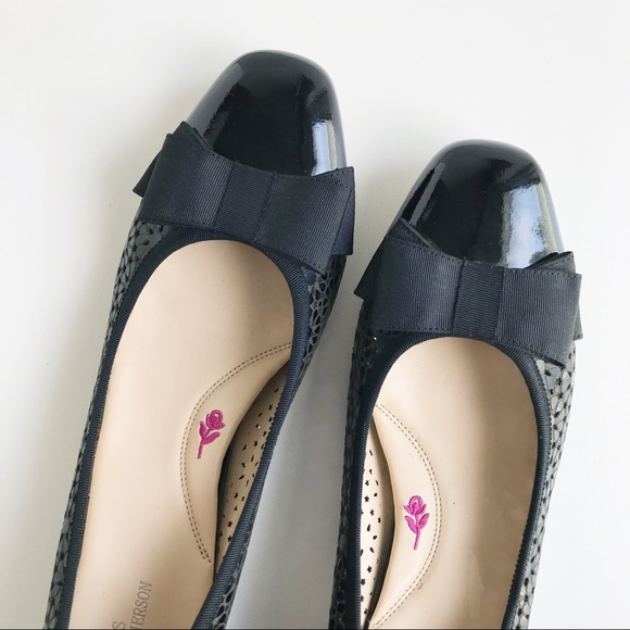 Ros Hommerson   Trisha Cutout Leather Flats   12SS